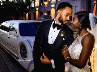 The wedding of Terrica and Braylon