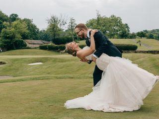 The wedding of Melissa and Bradley
