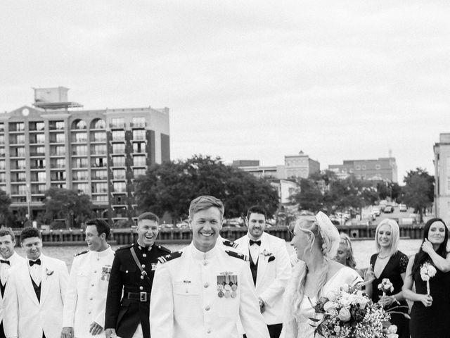 Zatha and Matt's Wedding in Wilmington, North Carolina 40