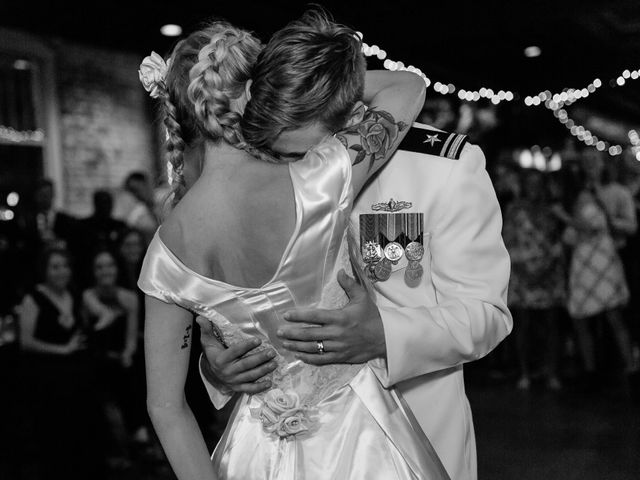 Zatha and Matt's Wedding in Wilmington, North Carolina 55