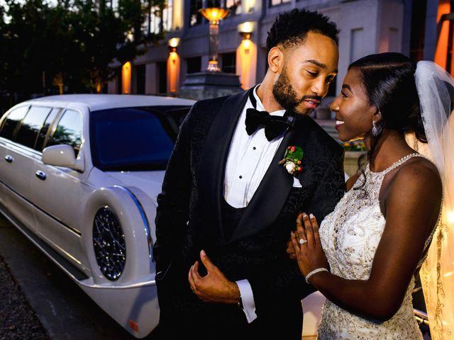 The wedding of Terrica and Braylon