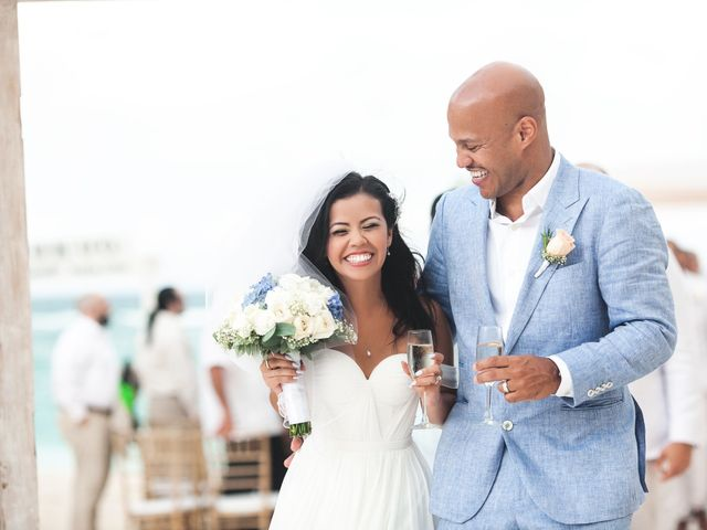 The wedding of Mila and Robert