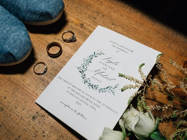 Michael and Kayla's Wedding in Dallas Center, Iowa 7