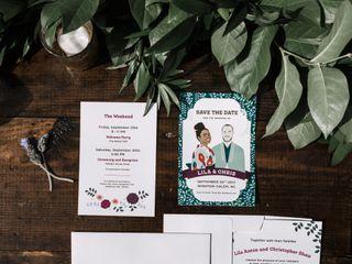 The wedding of Lila and Chris 3