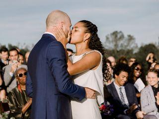 The wedding of Lila and Chris