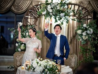 The wedding of evan and Zhang