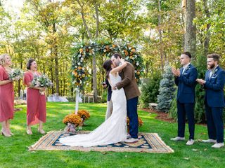 The wedding of Jack and Jessica