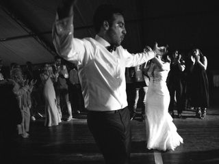 The wedding of Danielle and Milad 1
