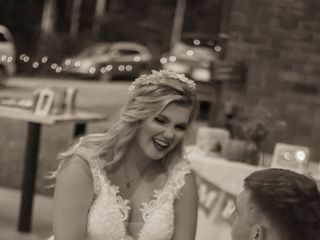 The wedding of Cayley and Ethan 1