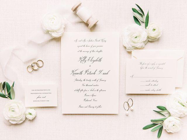 Kenneth Lamb and Kelly Koenig Lamb's Wedding in Houston, Texas 2