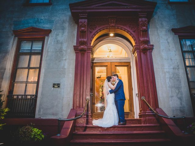 The wedding of Iris and Joe