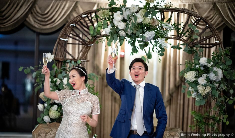 Zhang and evan's Wedding in Long Island City, New York