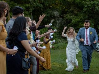 The wedding of Mitch and Rachel 3