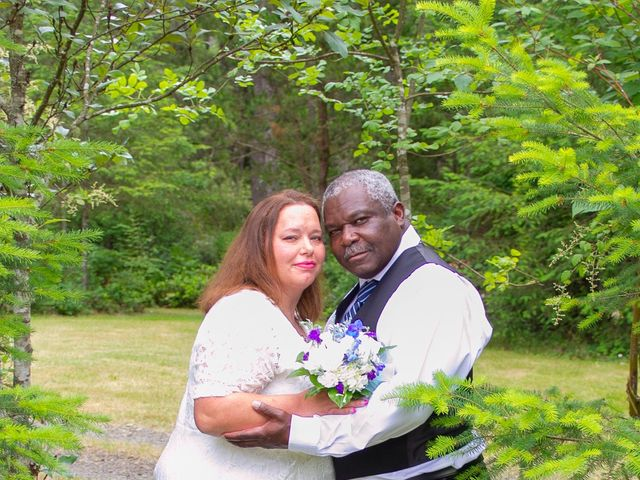 The wedding of Kelly and Carl