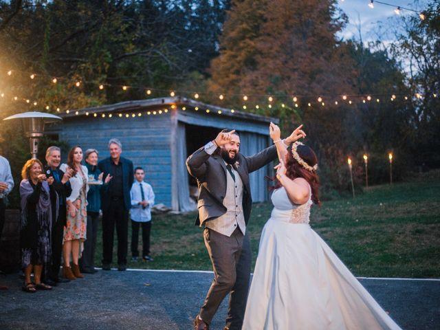 Joe and Juli's Wedding in North Hudson, New York 16