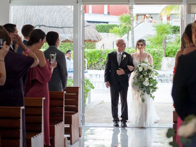 Charles and Alanna's Wedding in Puerto Aventuras, Mexico 23