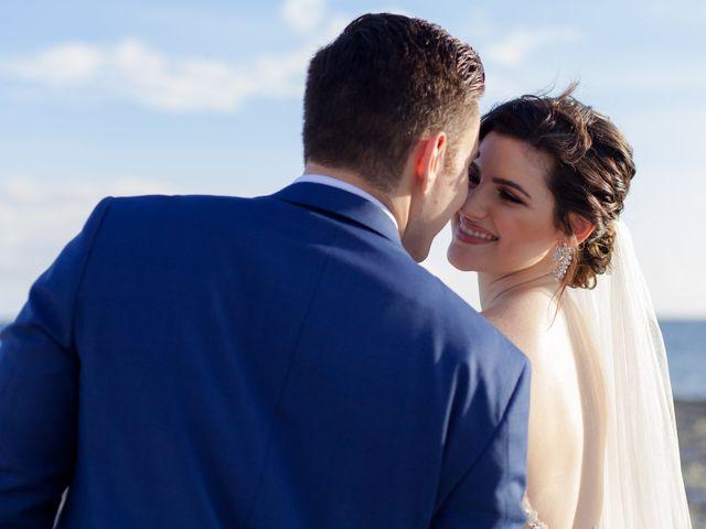 The wedding of Alanna and Charles