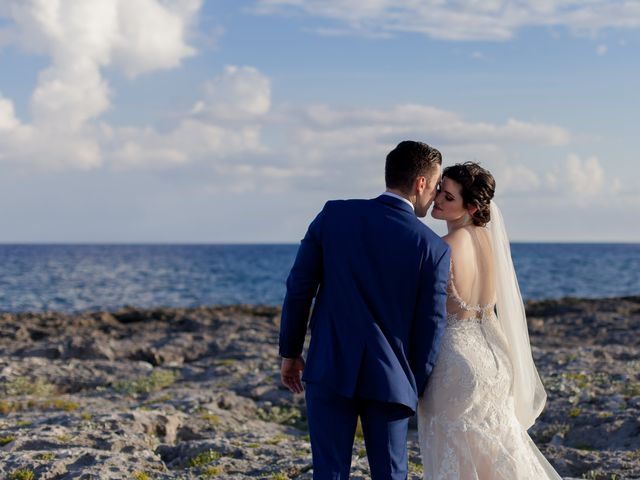 Charles and Alanna's Wedding in Puerto Aventuras, Mexico 25