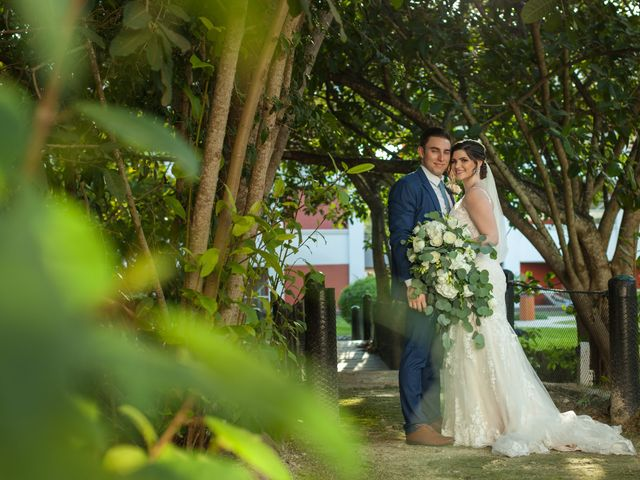 Charles and Alanna's Wedding in Puerto Aventuras, Mexico 26