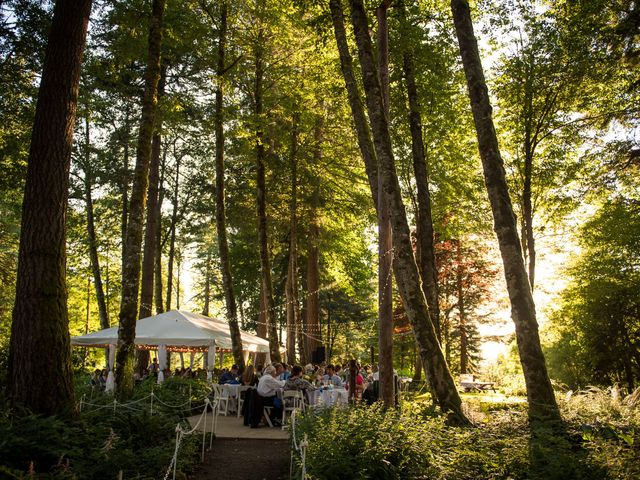 Melissa and Sam's Wedding in Bridal Veil, Oregon 26
