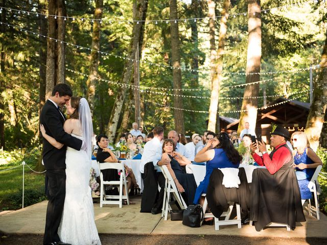 Melissa and Sam's Wedding in Bridal Veil, Oregon 23
