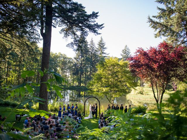 Melissa and Sam's Wedding in Bridal Veil, Oregon 2