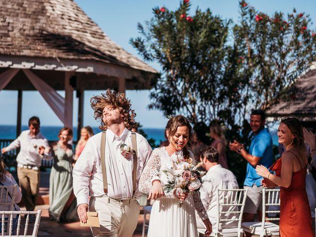 Sadie and Brandon's Wedding in Ocho Rios, Jamaica 17