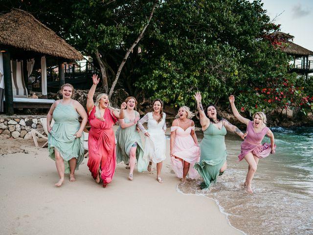 Sadie and Brandon's Wedding in Ocho Rios, Jamaica 24