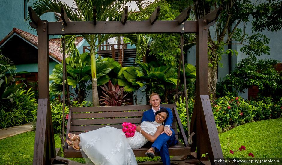 Michelle and Jason's Wedding in Negril, Jamaica