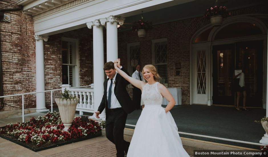 Parker and Brenam's Wedding in Fayetteville, Arkansas