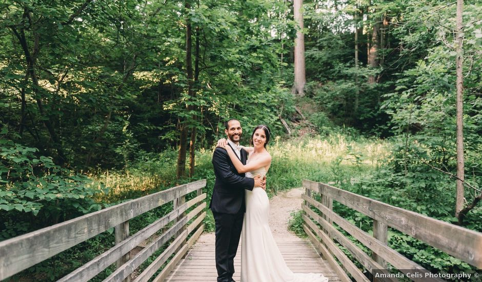 Anna and Joe's Wedding in Peninsula, Ohio