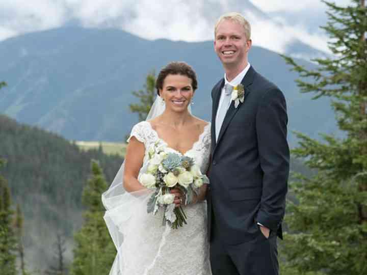 The wedding of Chad and Liz