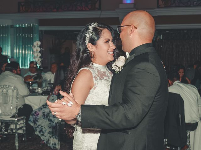 The wedding of Susy and Allen