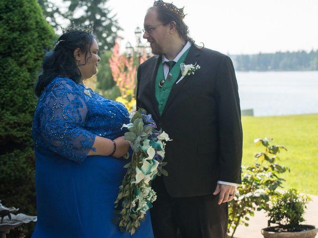 Autumn  and Scott 's Wedding in Lakewood, Washington 6