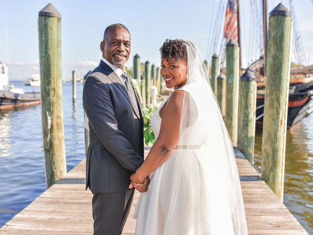 The wedding of Lisa Ivy and Clarence Baker, Jr