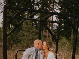 The wedding of Nick and Erika 1