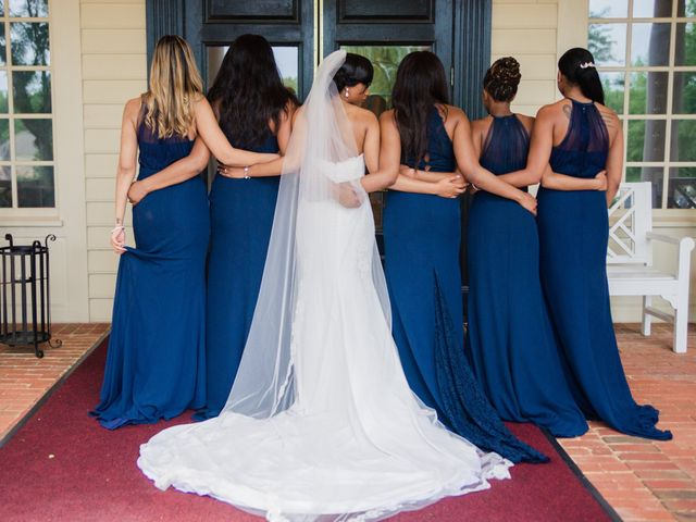 Lloyd and Dominique's Wedding in Williamsburg, Virginia 13