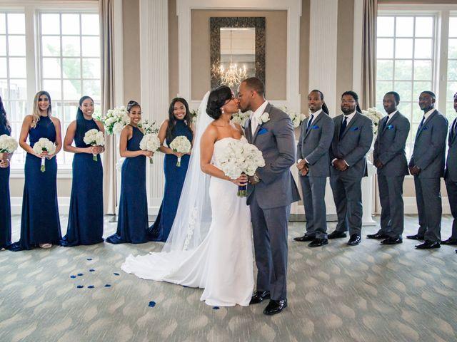 Lloyd and Dominique's Wedding in Williamsburg, Virginia 16