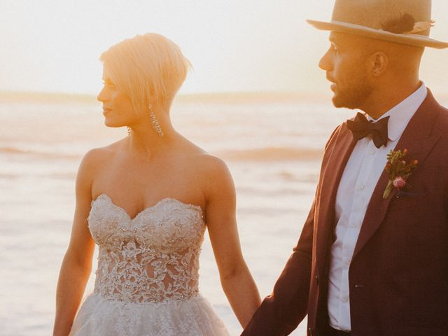 The wedding of Aubrey and Kevin