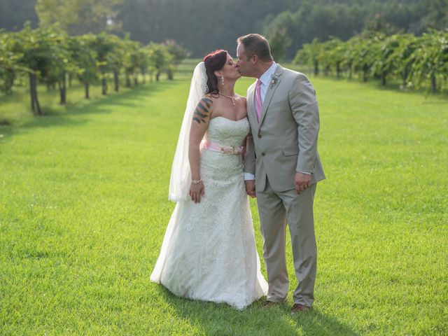 The wedding of Justin and Shannon