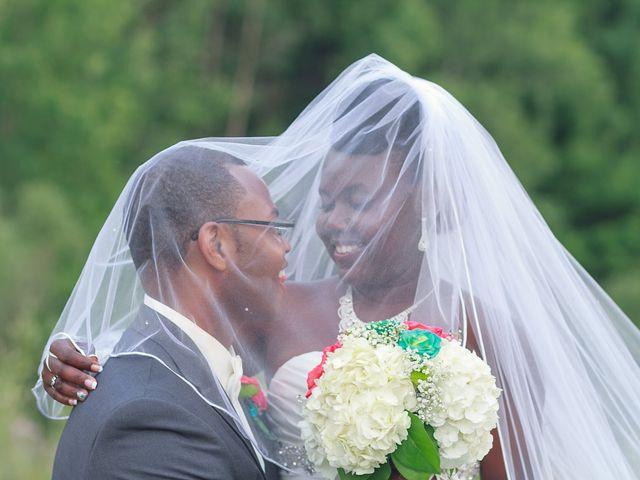 The wedding of Widline and Julius