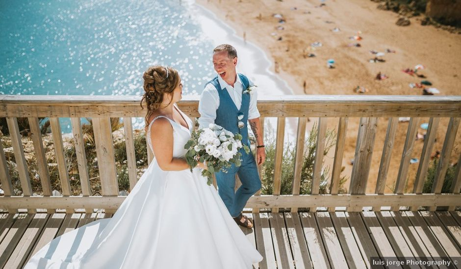 Claire and james's Wedding in Albufeira, Portugal