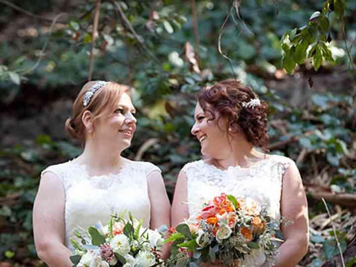 The wedding of Jennifer and Kristina