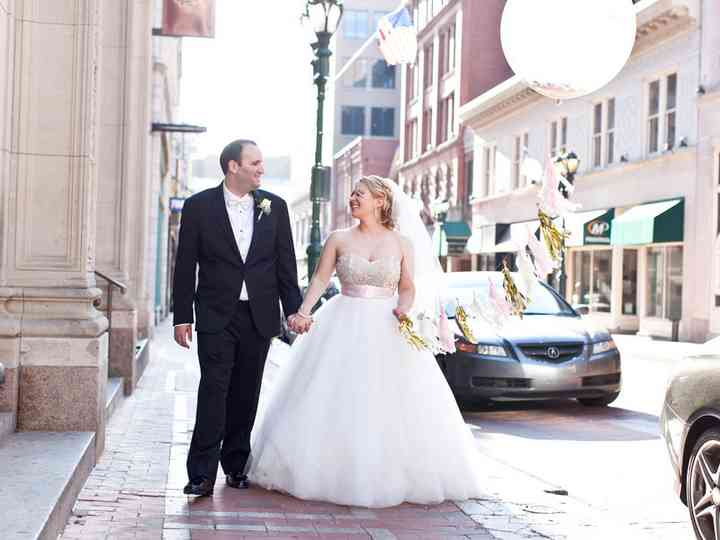 The wedding of Erind and Mallory