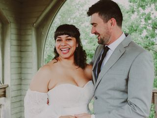 The wedding of Caleb and Brevonna