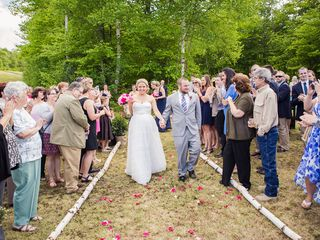 Bridget and Daniel's Wedding in Tupper Lake, New York 10