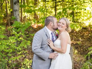 Bridget and Daniel's Wedding in Tupper Lake, New York 11
