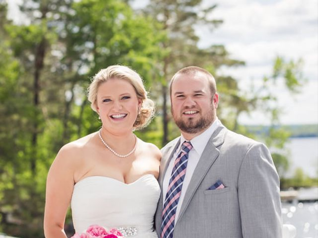 The wedding of Daniel and Bridget