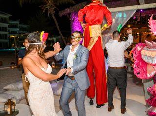 The wedding of Glenn and Martella 1