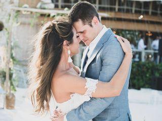 The wedding of Glenn and Martella